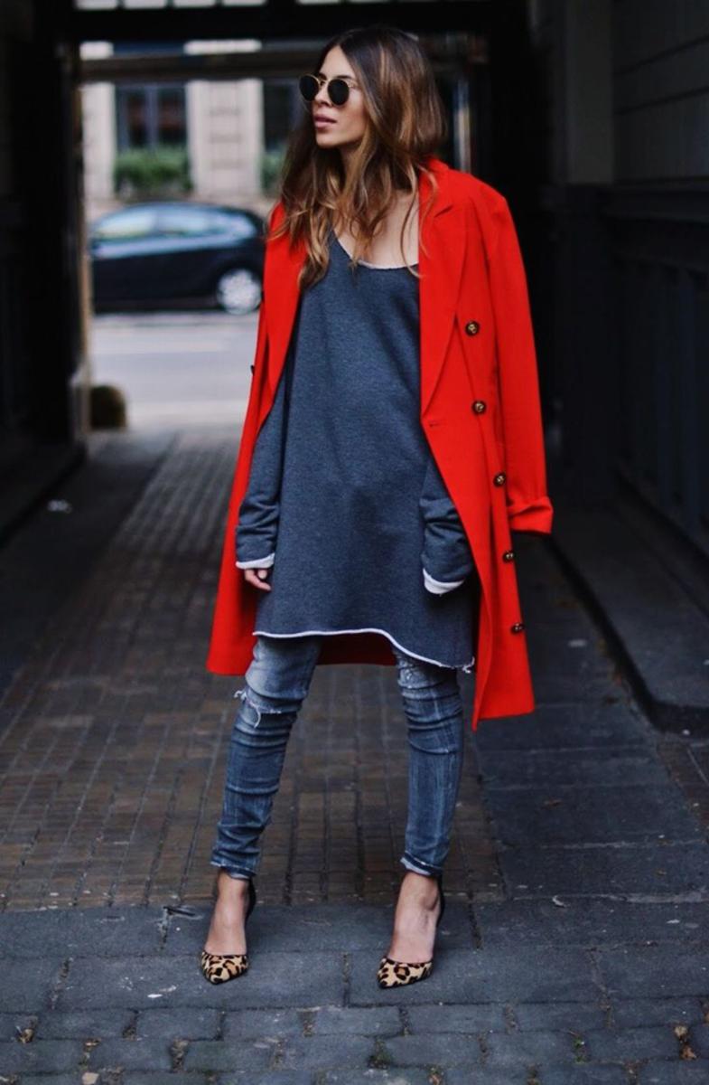 Платья с джинсами
