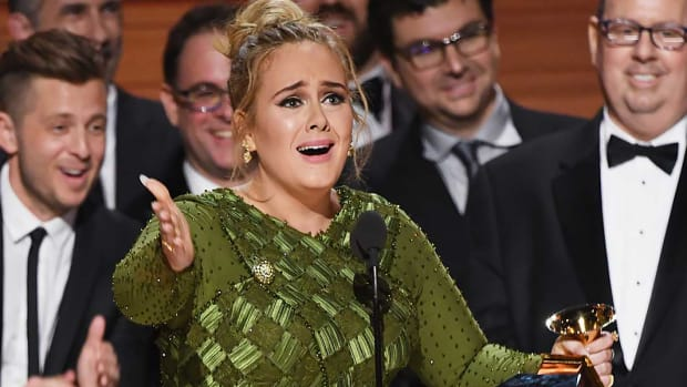 Adele, Best Album of the Year, Grammy Awards, 59th Annual Grammy Awards, 25