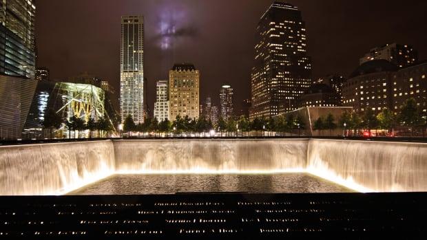 9.11 Memorial_N Pool Night 9112011_Credit Joe Woolhead
