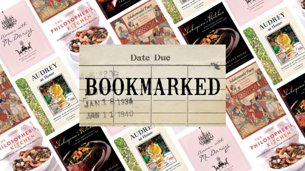 Bookmarked historical recipe books