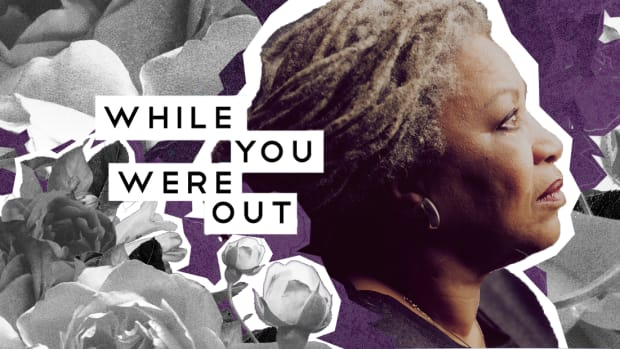 while you were out toni morrison
