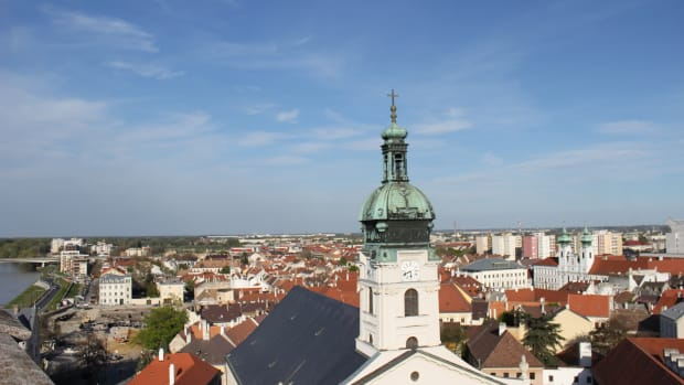 view from castle