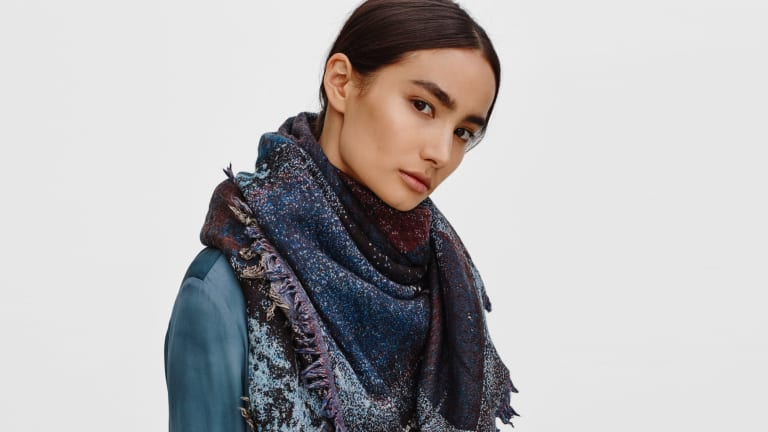 These Blanket Scarves Are Stylish Alternatives to Wrapping Up in Your Covers
