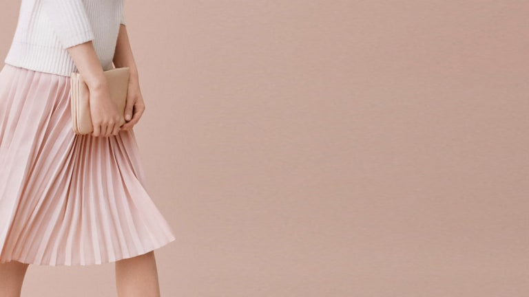 Why We Love the Universally Flattering Pleated Skirt