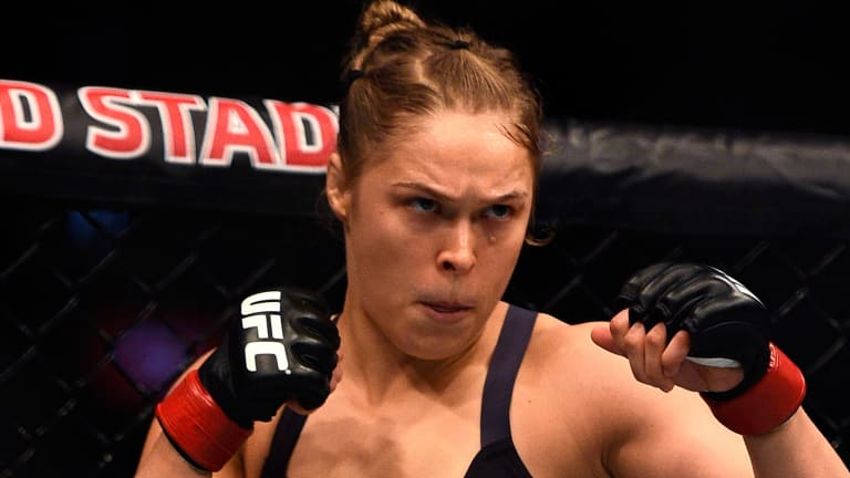 Did Ronda Rousey Just Use a Rocky Quote to Refer To Domestic Violence?