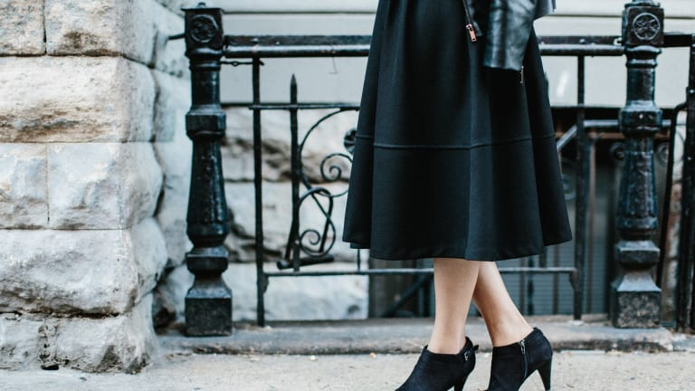 Transform 1 Midi Skirt from Day to Night with These Simple Changes
