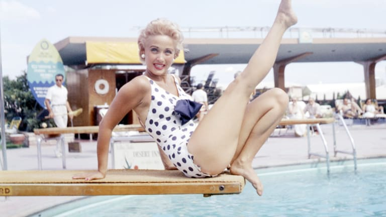 Classic One-Piece Swimsuits Inspired by Audrey Hepburn and Others