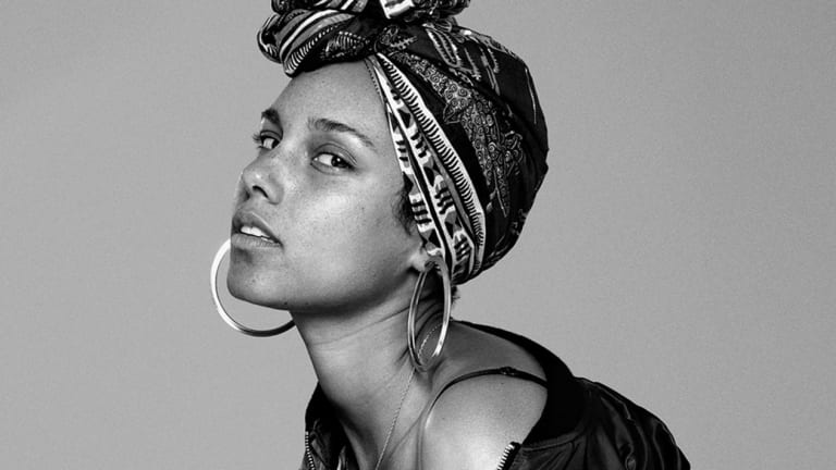 Alicia Keys' New Cover Art Makes a Bold Statement About Beauty