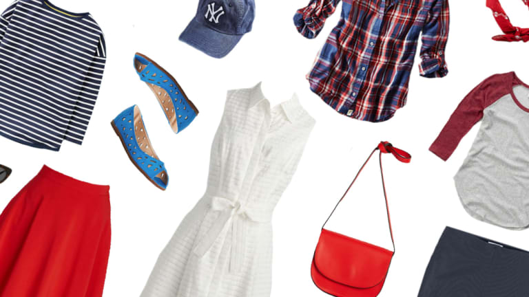 5 All-American Outfits for the Fourth of July That You Already Have in Your Closet