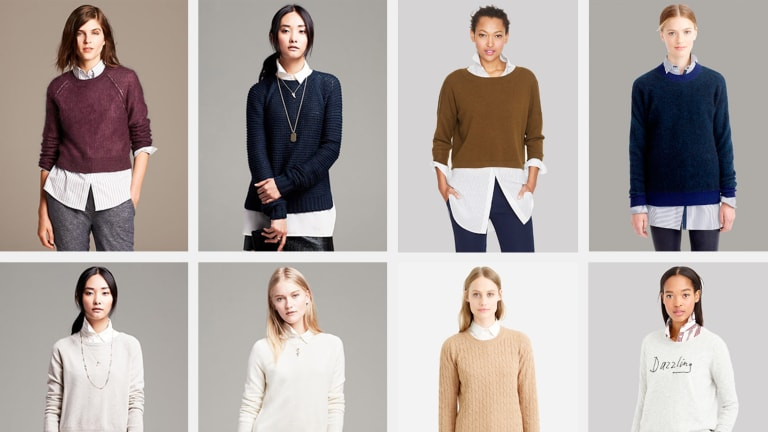 The Effortlessly Wearable Long Shirt and Cozy Sweater Trend