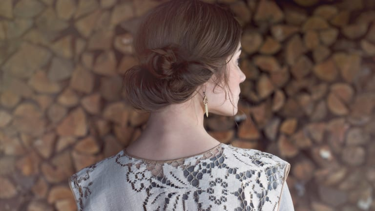 "Get the ""Poetry in Motion"" Look With This Elegant Updo Tutorial"