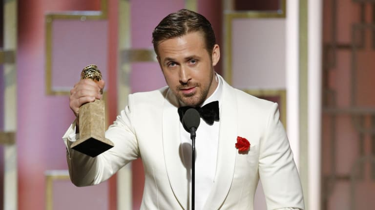Ryan Gosling's Tribute to Eva Mendes and Other Special Moments from Last Night's Golden Globes