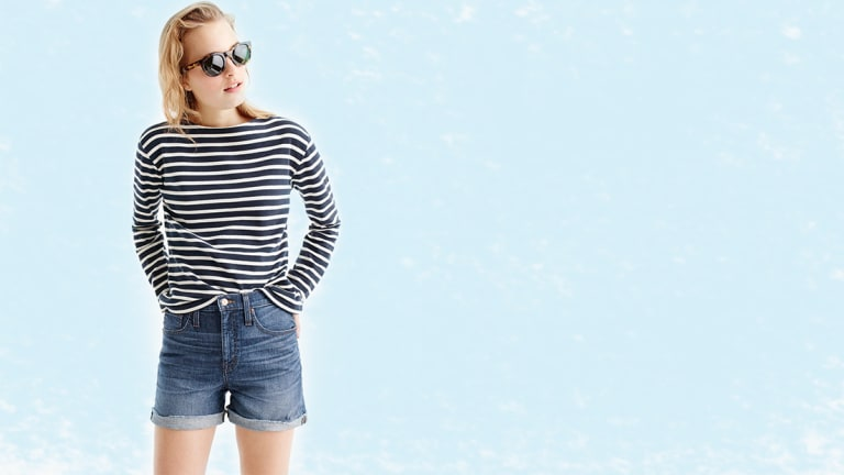 The Ultimate Not-Too-Short Jean Shorts Roundup