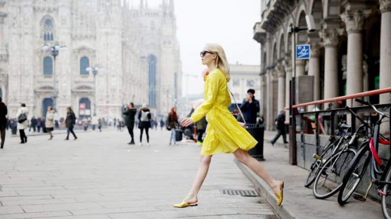 The Unexpected Shoe Style That's Replacing Our Ballet Flats