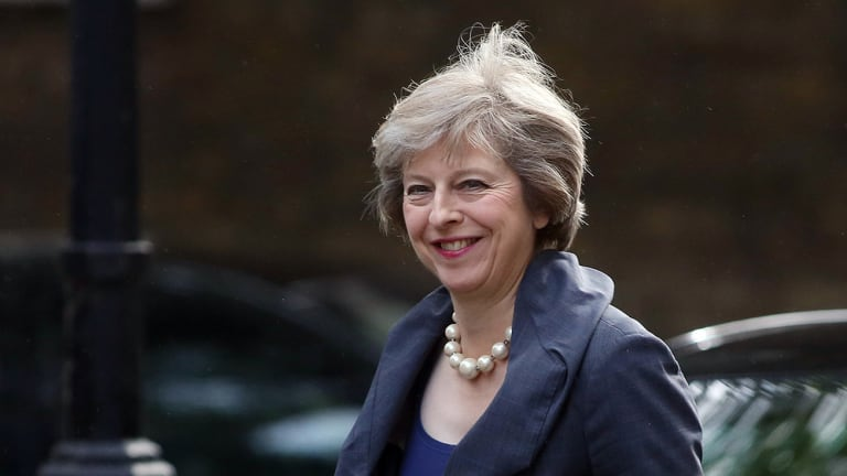 It Wasn't All Smooth Sailing for the U.K.'s New Prime Minister Theresa May