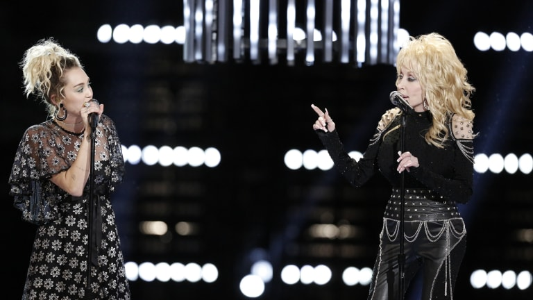 Miley Cyrus Goes Back to Roots, Reprising 'Jolene' with Her Godmother, Dolly Parton