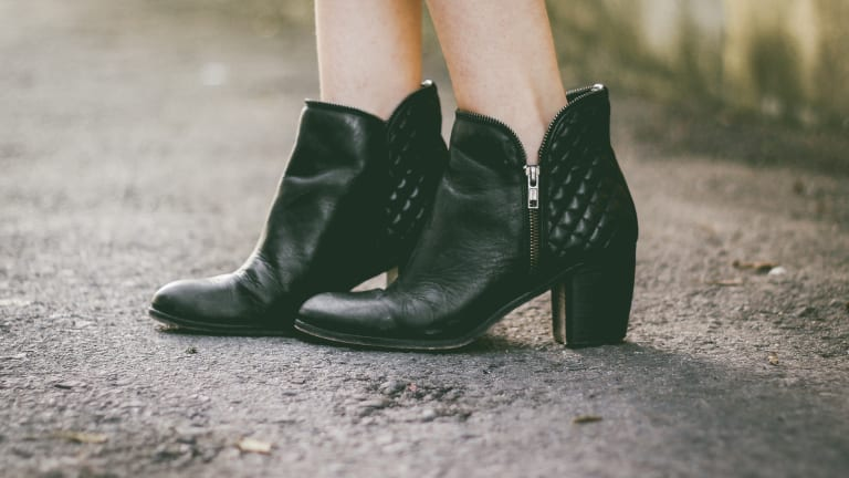 How to Wear Ankle Boots with Workwear