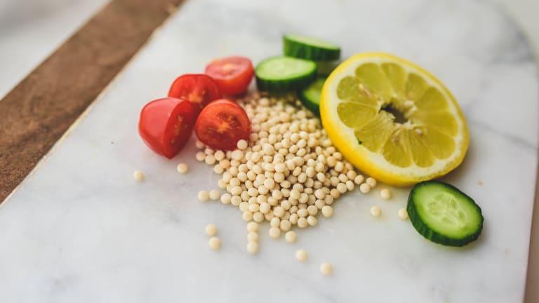 Lemony Israeli Couscous Salad