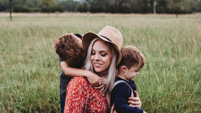 The Beautiful Chaos of Motherhood Keeps Me Rooted in the Present