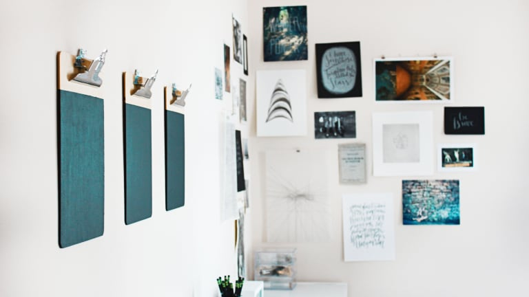 At Home with Her: An Inspirational Gallery Wall