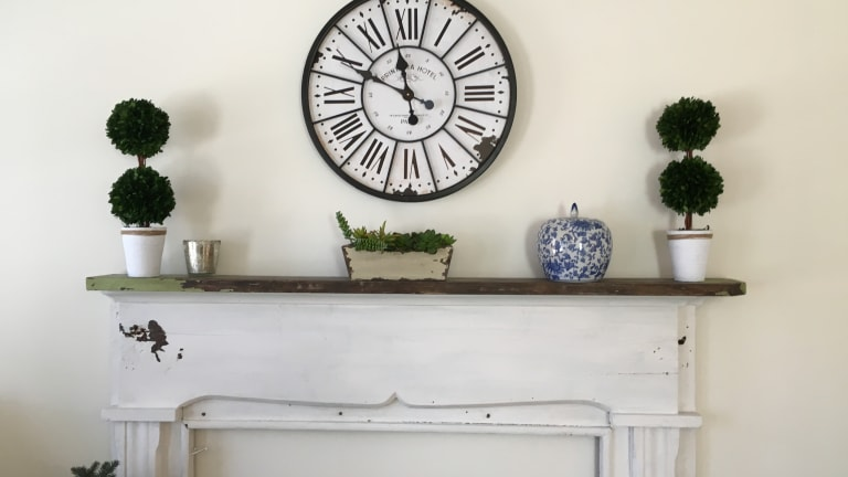 At Home with Her: Turning a Flea Market Reject into a Focal Point