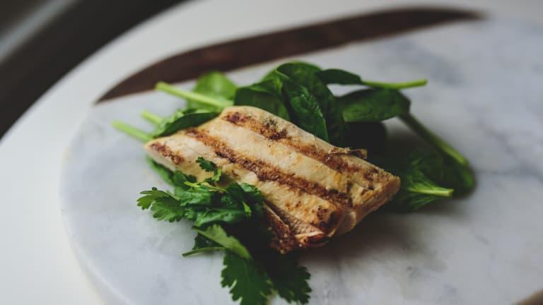 Chicken-Salsa-Cilantro Tacos