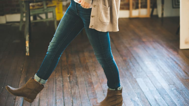 Getting Cozy with Madewell's Thermolite Jeans
