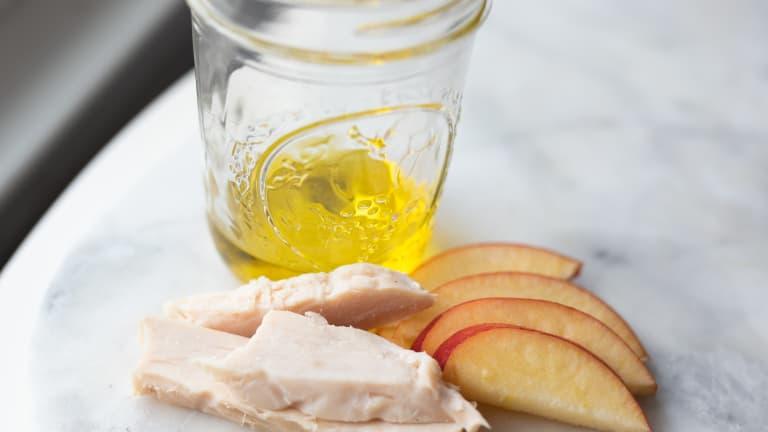 Honey-Mustard Chicken & Apples