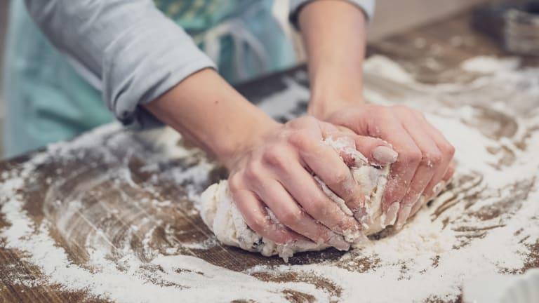 Simple Homemade Bread to Accompany a Festive Meal