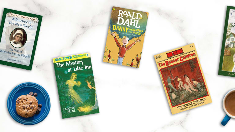 The Joy of Reliving My Childhood Bookshelf