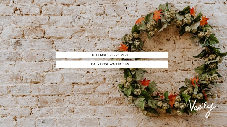 December 21 - 25, 2020 Daily Dose Wallpapers