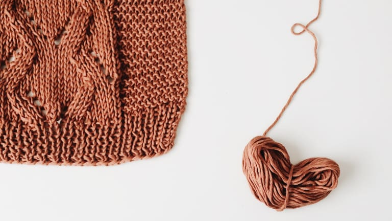 If You Want to Learn to Knit, Don't Start with a Scarf