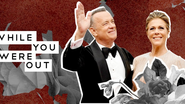 Tom Hanks' One-Day-At-A-Time Advice, And Other News from the Week