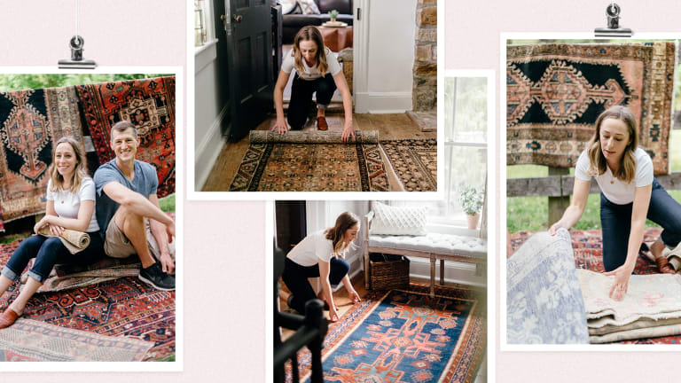 Woman at Work: Finding Vintage Rugs for Modern Homes