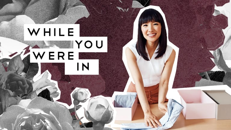 Marie Kondo's Next Step, And Other Notes from the Week