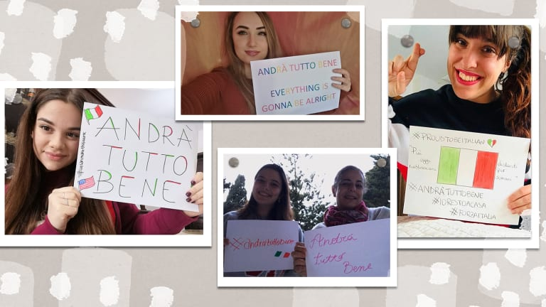 Italian Women Encourage American Women to Find Inner Peace in a Life Interrupted by COVID-19