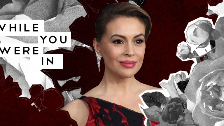Alyssa Milano Supports Biden Amid Corroborated Allegations, And Other Notes from the Week