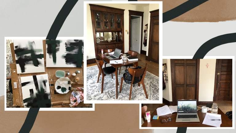 At Home with Her: A Multipurpose Dining Room
