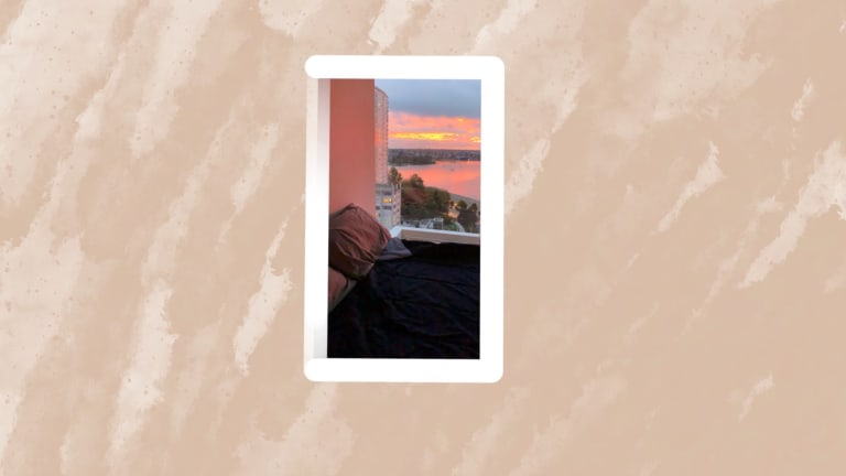 At Home With Her: A Bedroom With A View