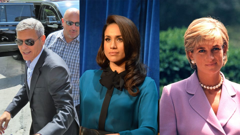 George Clooney Defends Meghan Markle From Being Chased Like Diana, and Other Notes from the Week