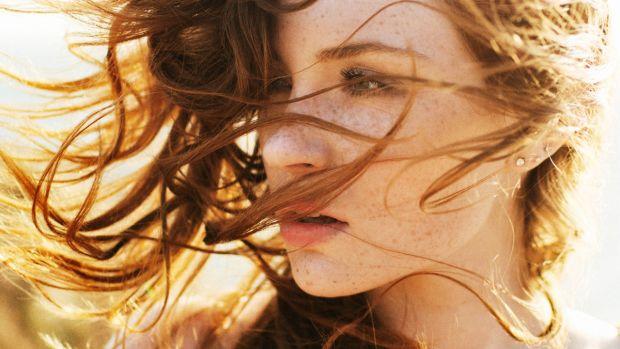 air dry hair, dry hair, frizz