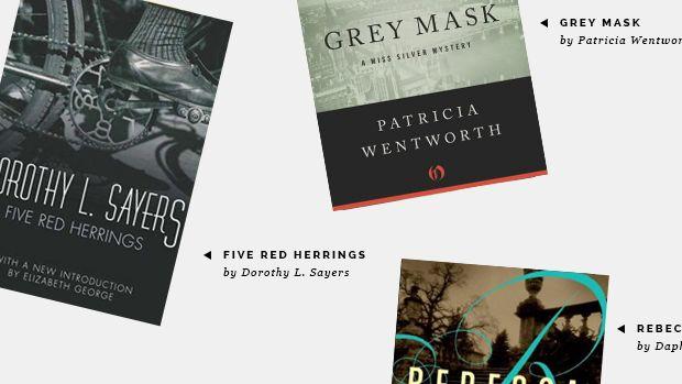 murder mysteries, book list