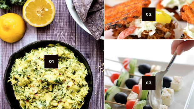 healthy food, snack recipes, party snacks