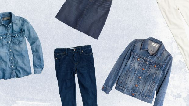 Denim, Spring Style, Denim Jacket, White Jeans, Spring Denim