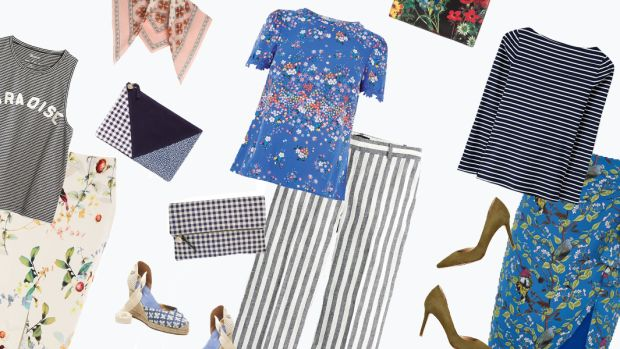 Spring Style, Prints and Patterns, Florals, Stripes, Style Inspiration, Spring Outfits, Mixing Prints