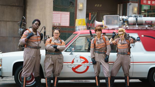 ghostbusters, new ghostbusters, melissa mccarthy