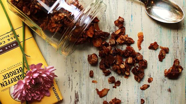 breakfast ideas, granola recipes, healthy eating
