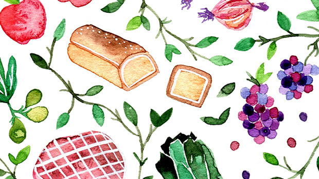 healthy food, groceries