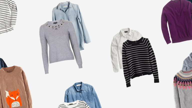 A Field Guide to Layering Sweaters and Button-Ups