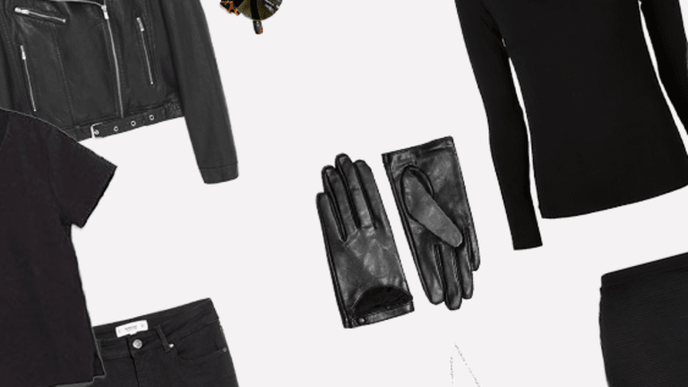 3 Clever Tricks to Help You Pull Off Black (Without Looking Drab)